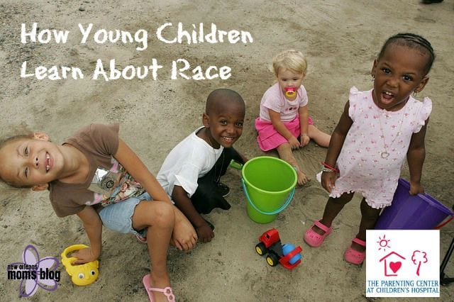 how young children learn about race