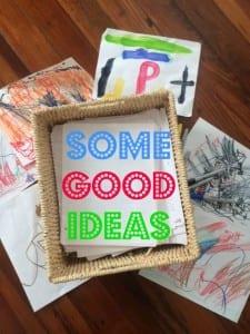Some Good Ideas