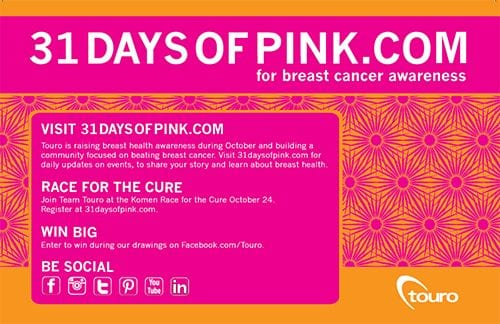 31 days of pink