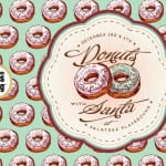 2nd Annual Donuts with Santa at Palm Tree Playground {A Sponsored Playdate}