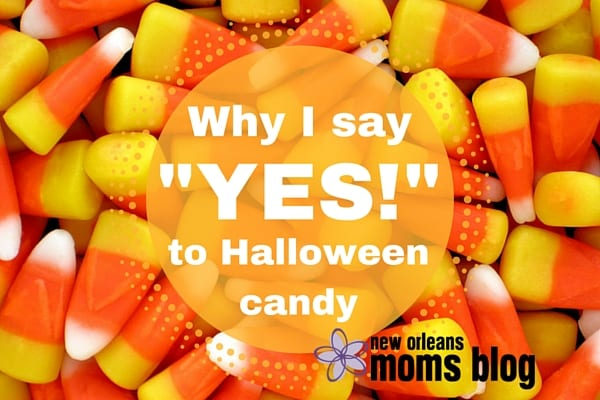 "Why I say ""Yes!"" to Halloween candy"