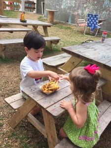 backyard restaurant