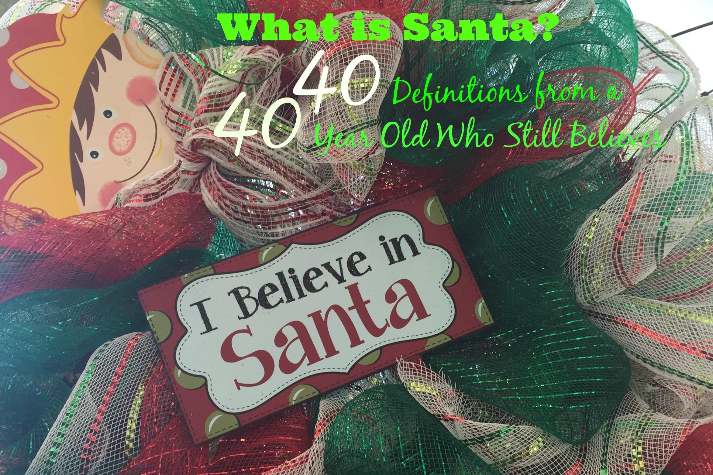 I Believe in Santa Main Pic 2
