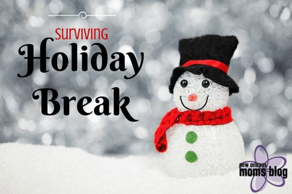 Surviving Holiday Break :: A Holiday Bucket List