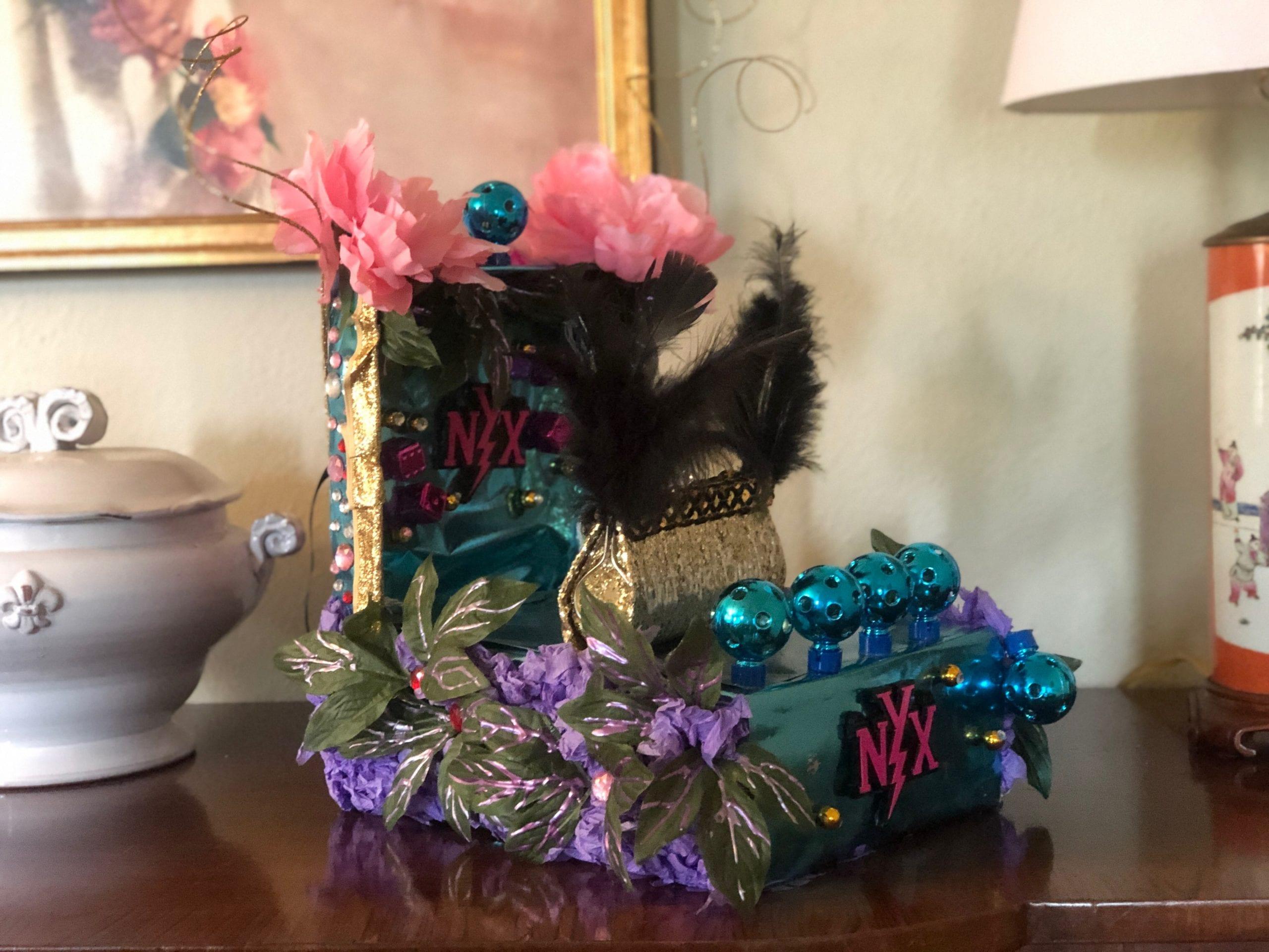 How To Make Shoe Box Floats A Mardi Gras Tradition For Nola Kids