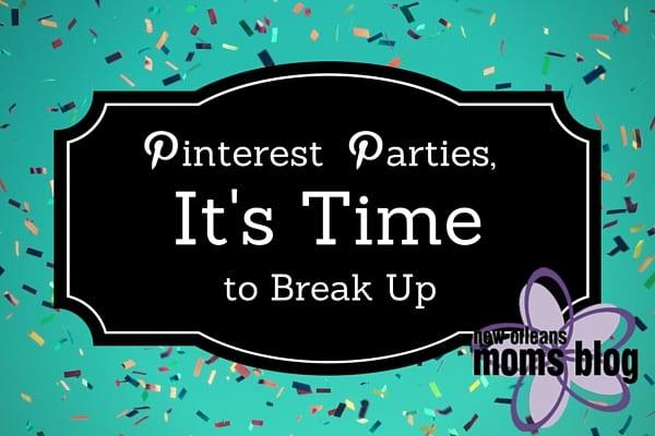Pinterest Parties,
