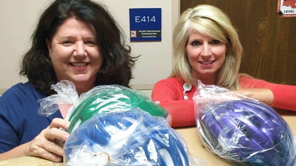 Patty and Bridget_helmets (2)