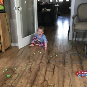 playdoh floor