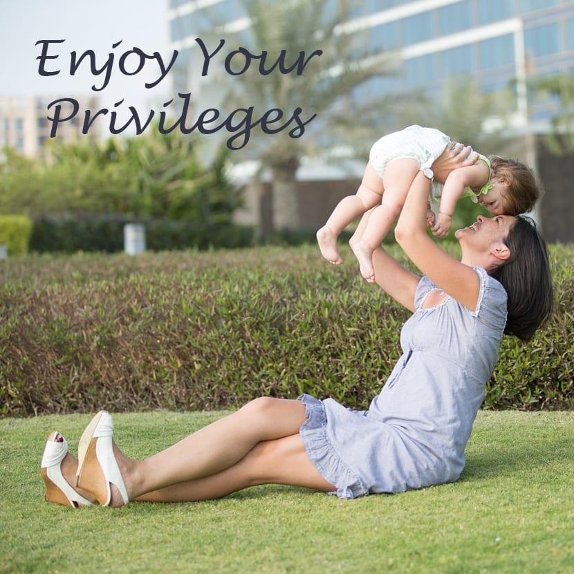 enjoying privileges