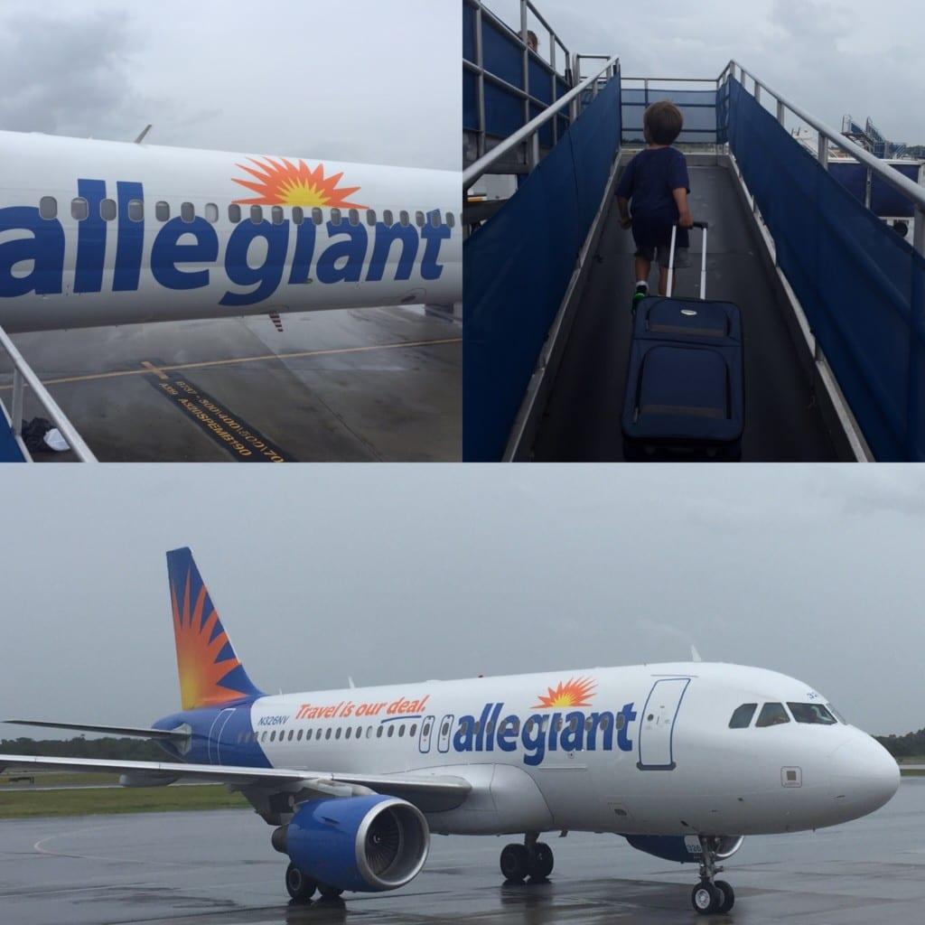 flying allegiant