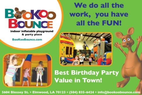 At BooKoo Bounce Your Party Is A Piece Of Cake