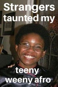 Itty Bitty Afro