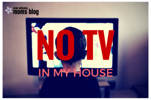 NO TV IN MY HOUSE (COVER)