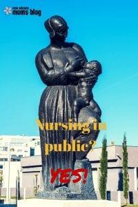 Nursing statue