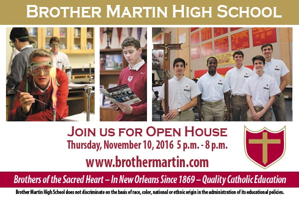 Brother Martin New Orleans Open House