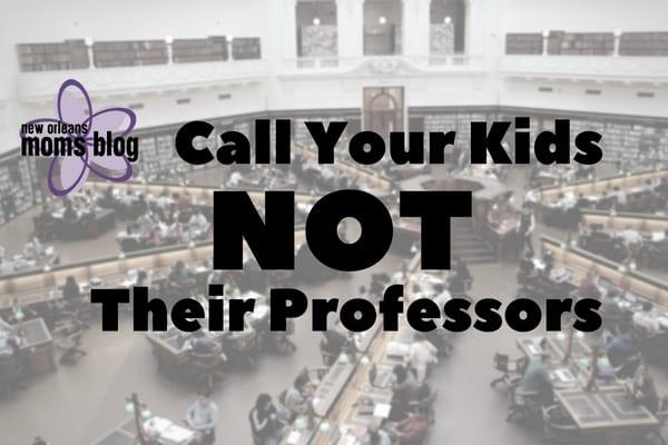 professors
