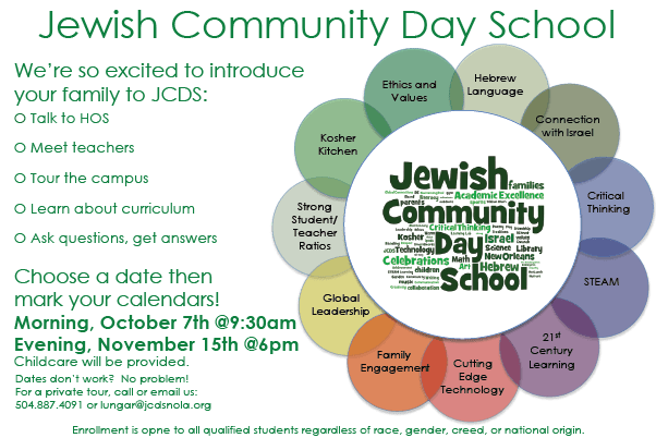 Jewish Community Day Open House