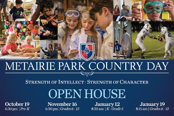 Metairie Park Country Day Open House