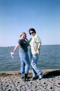 The day we met in October 1995.
