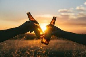 cheers-sunset