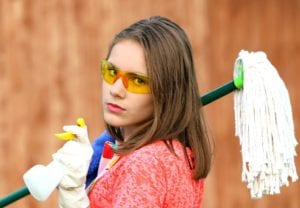 cleaning-girl