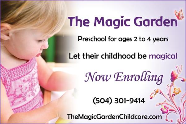 Magic Garden Print Ad NOMB 600x400