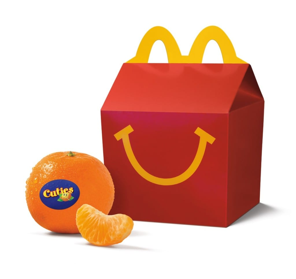 Cuties are coming to McDonald's Happy Meals