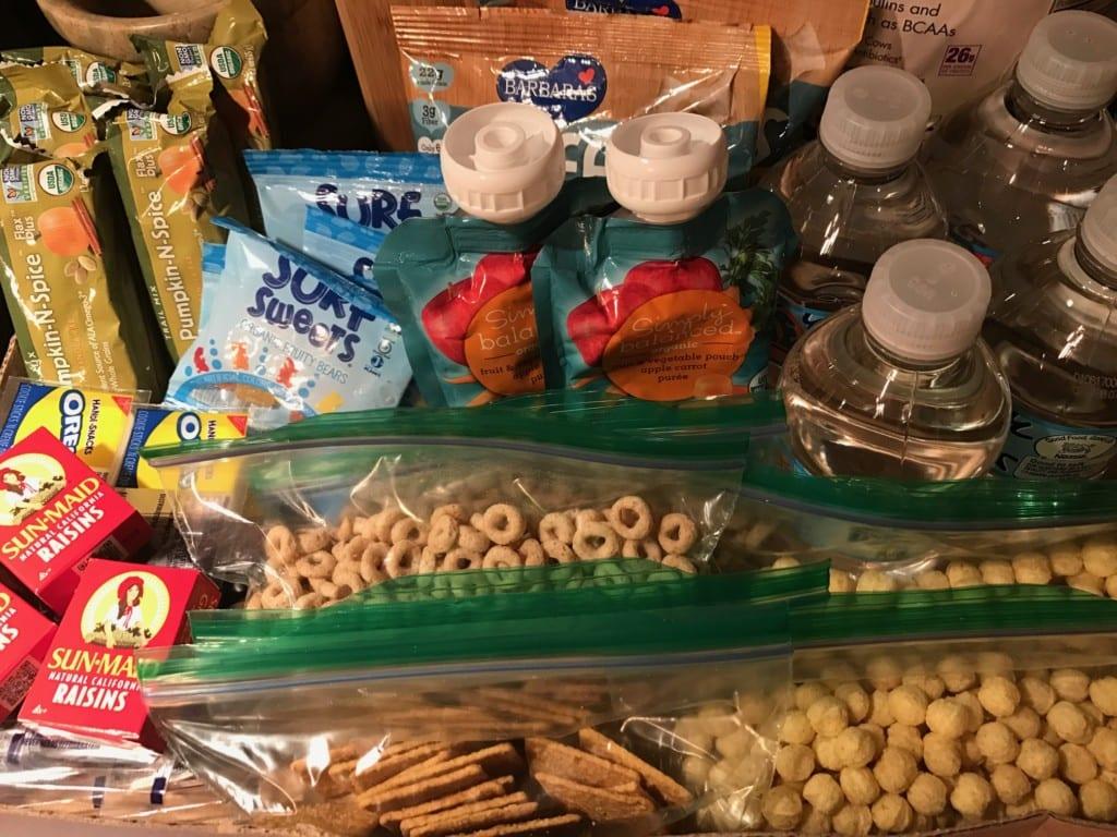 Mardi Gras Snack Bag