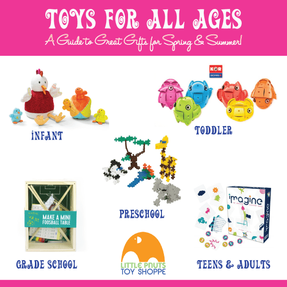New Toys For Spring at Little Pnuts Toy Shoppe
