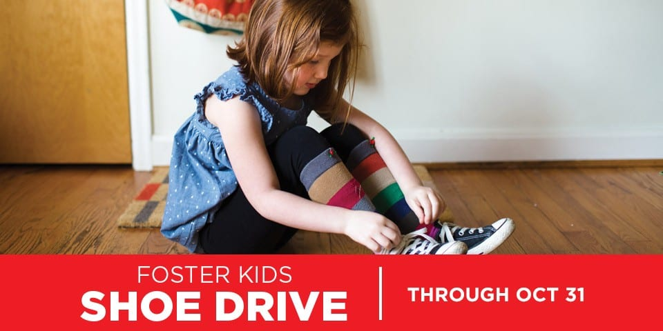 Local Mattress Firm Stores Host Shoe Drive for Foster Kids