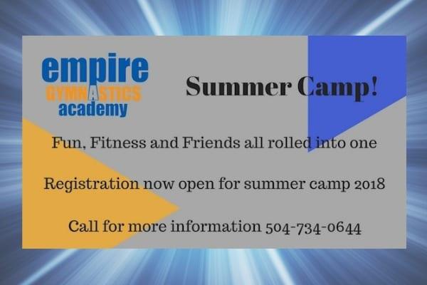 Empire Gymnastics Camp