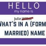 What's in a (Former Married) Name?