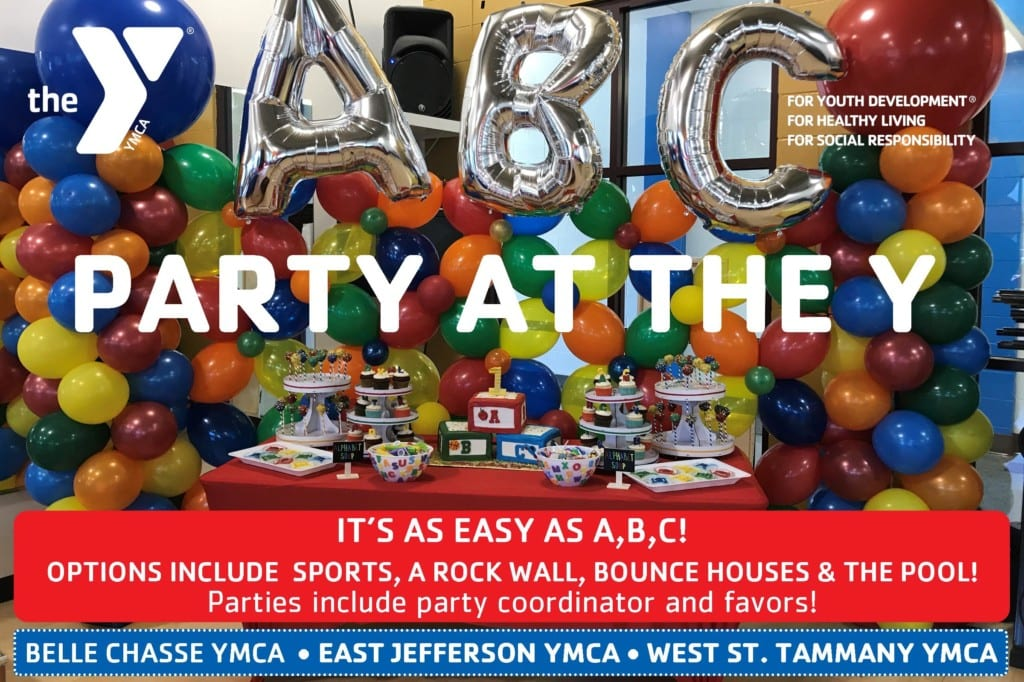 Create Your Own Custom Birthday Party At The Y Any One Of Our Facilities Package Options Include Youth Sports And Activities