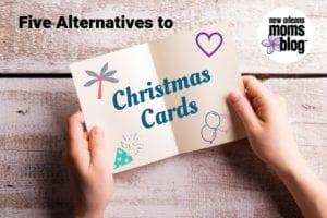 alternatives to Christmas cards