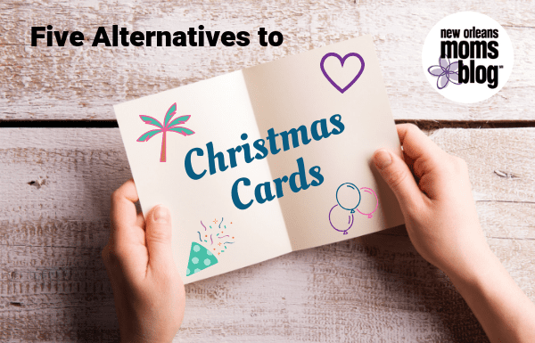 alternatives to Christmas cards