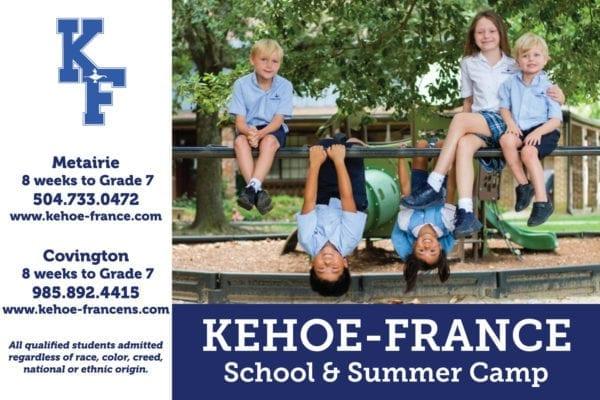 Kehoe-France ad for NOMB