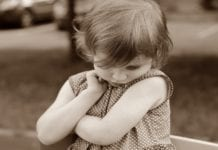 shy daughter