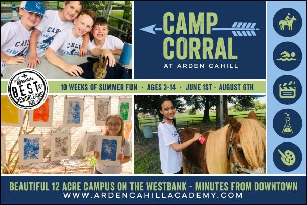 Westbank New Orleans Summer Camp Options