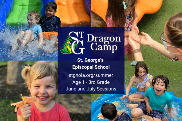 a summer day camp for children ages twelve months through rising third grade