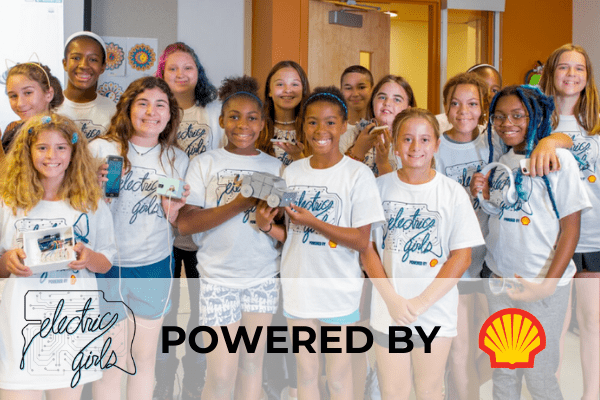 Electric Girls 2020 Summer Camp Graphic