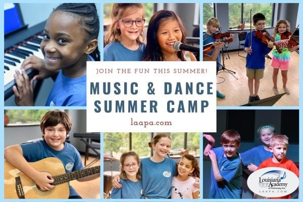 Music and dance camp New Orleans