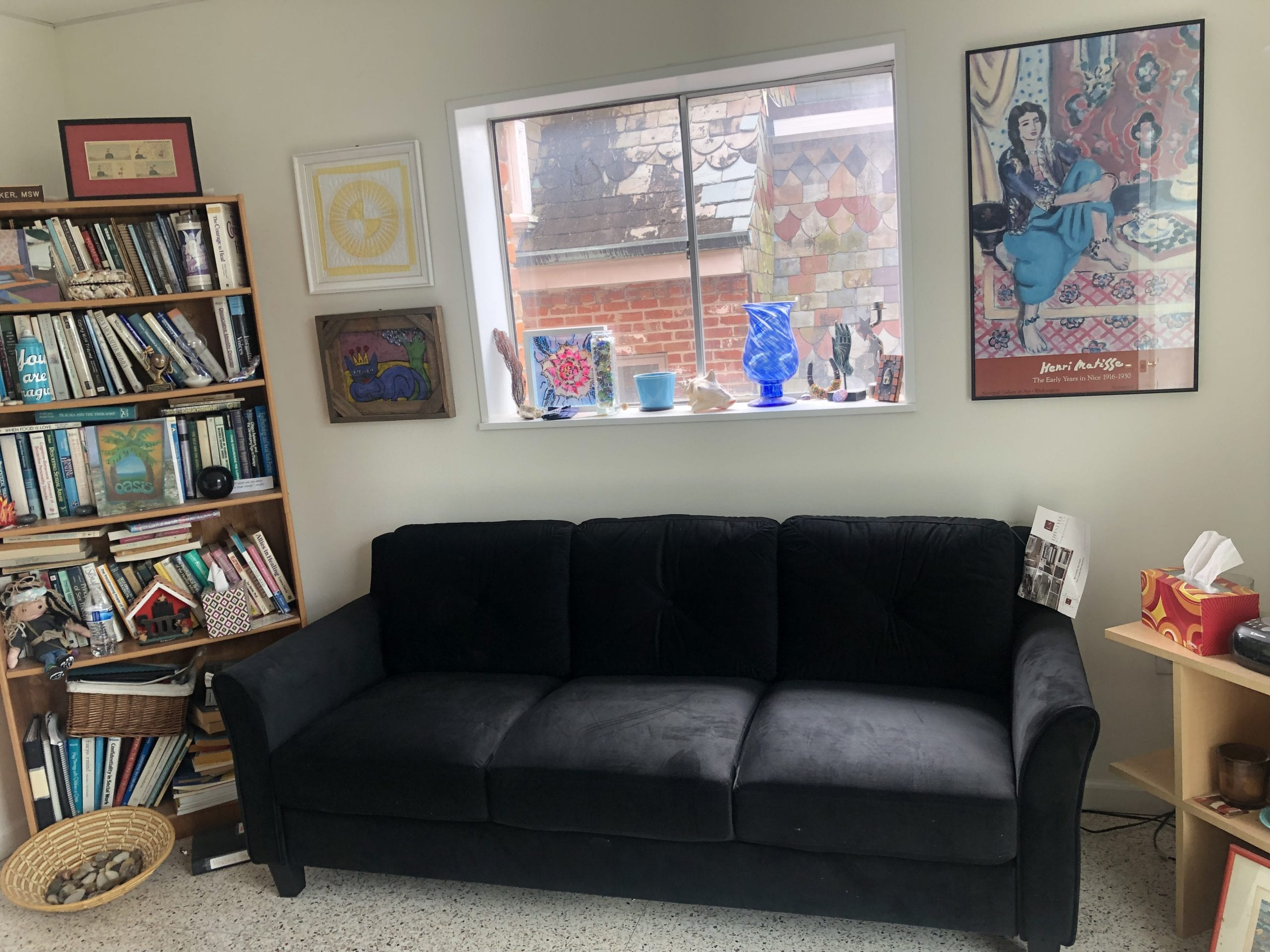 therapist's couch