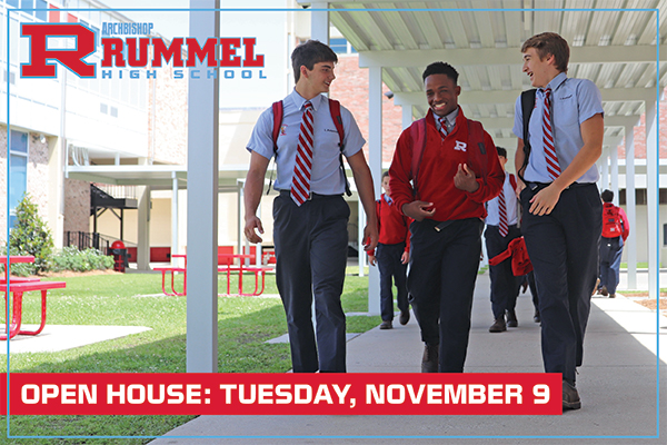 Catholic high school for boys New Orleans