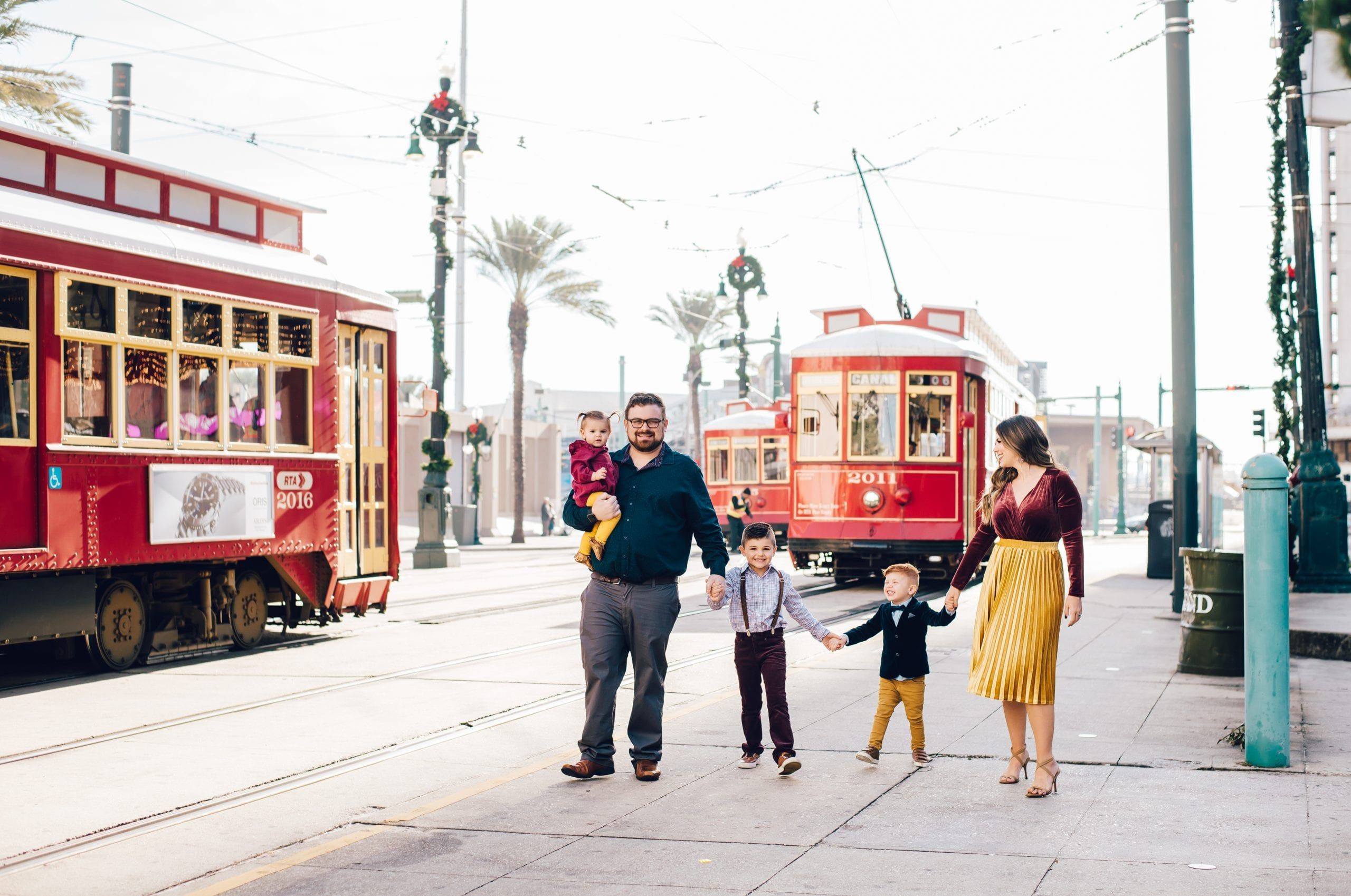 streetcar photos in New Orleans