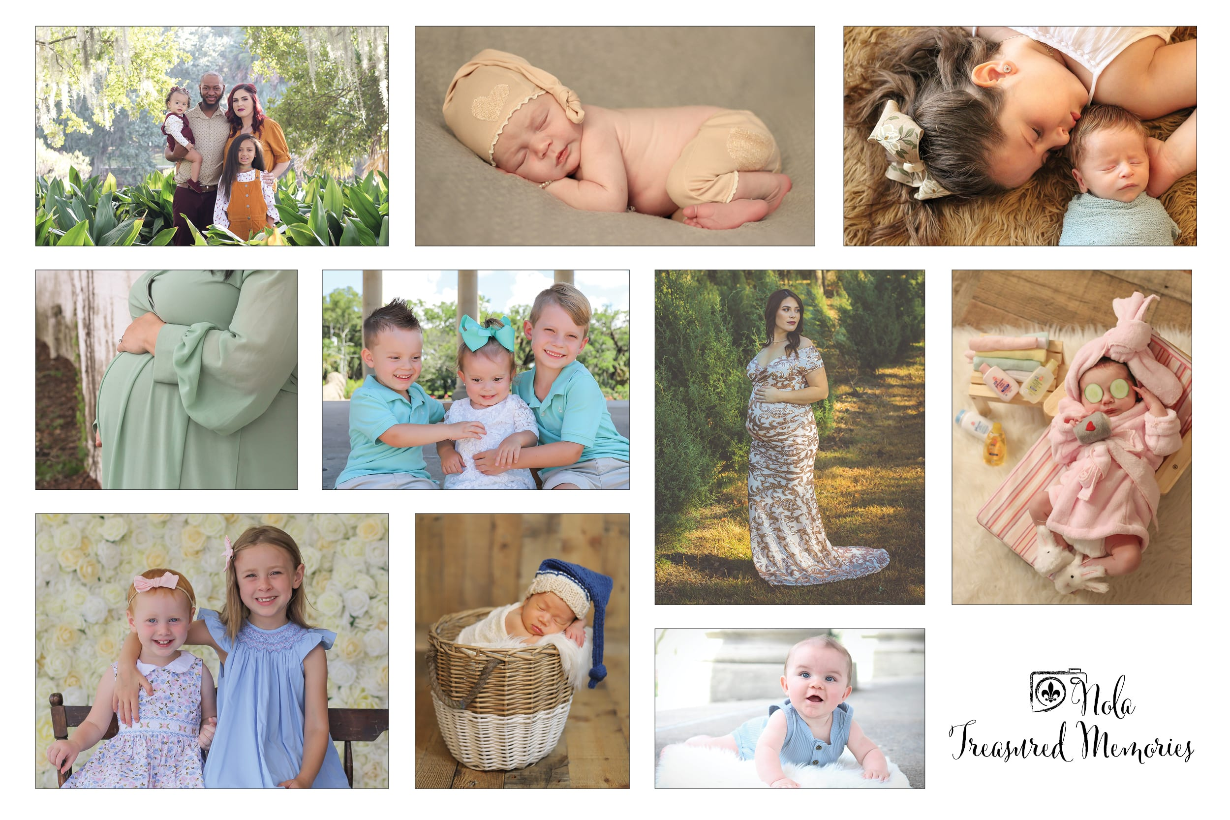 Newborn and family photographer in New Orleans