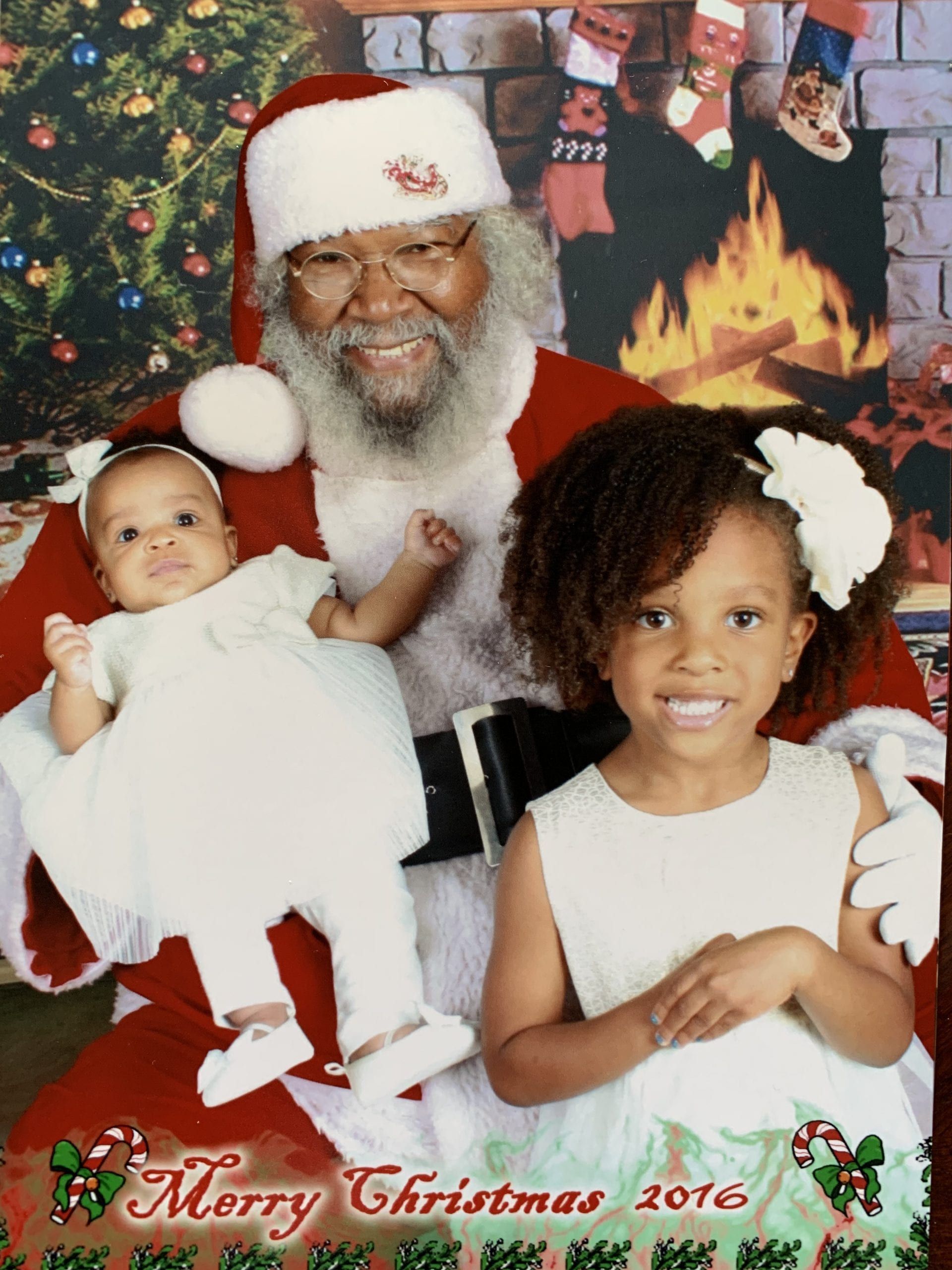 New Orleans mom chocolate Santa