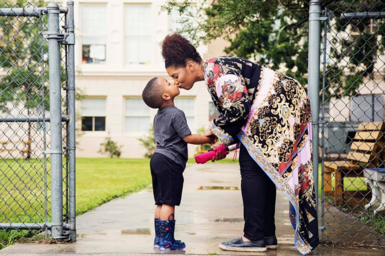 New Orleans Mom back to school 2020