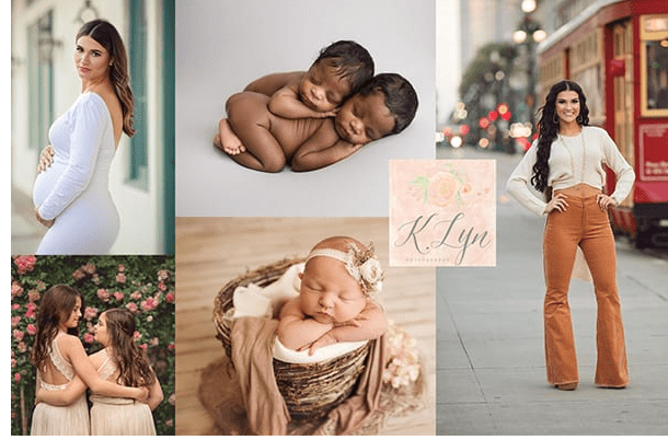 K. Lyn Photography specializes in Newborns, Maternity, Children, Family, & Senior sessions with a studio in Metairie and in Madisonville.