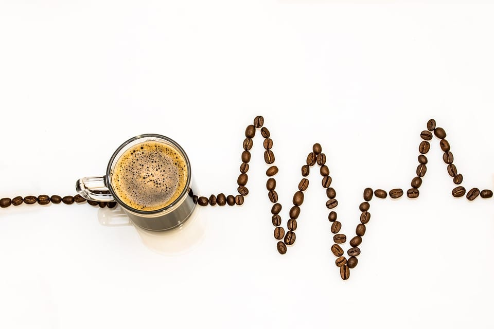 coffee bean heartbeat