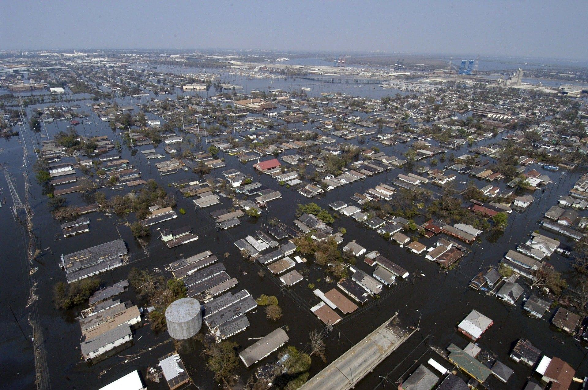 Katrina flood